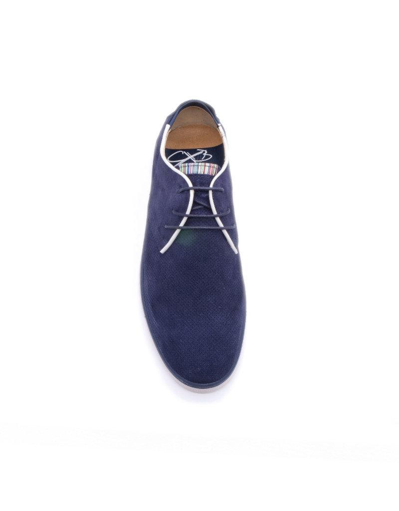 Coxx Borba Suede dress shoes for men Coxx Borba Alonso Navy