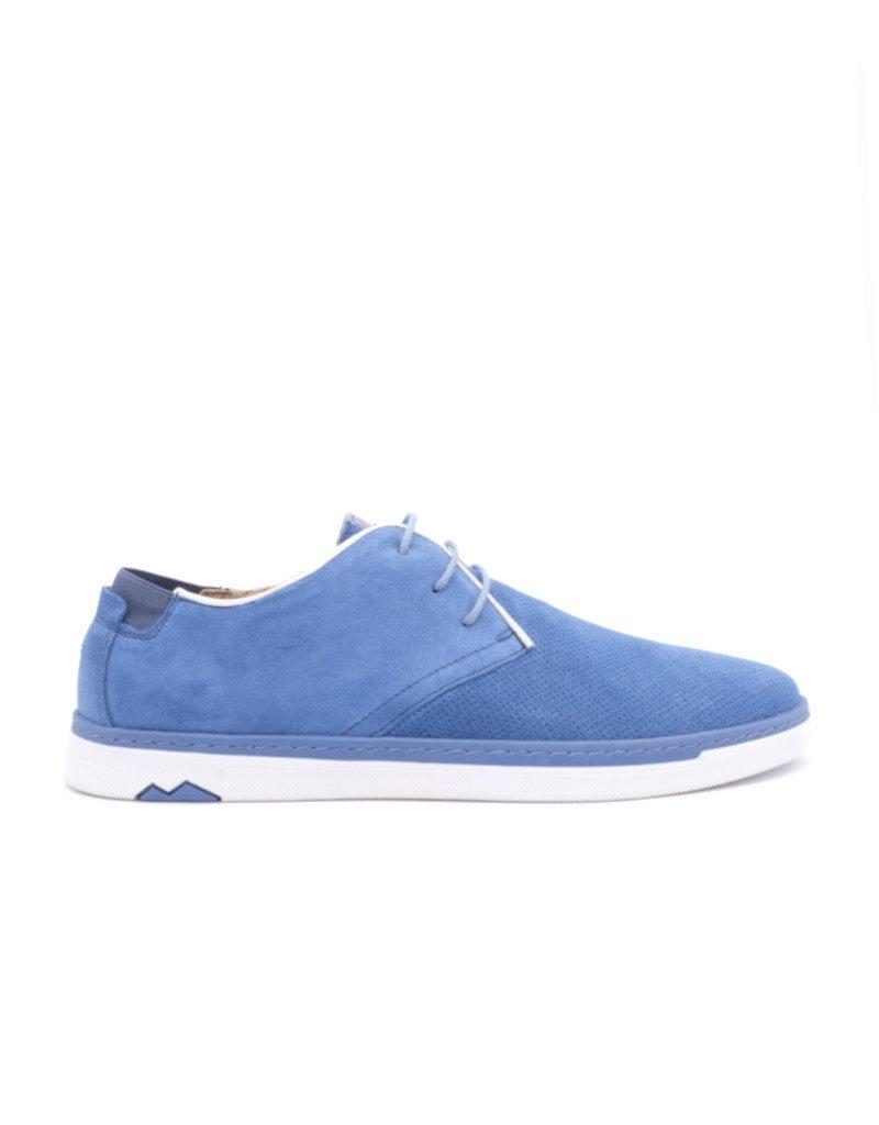Coxx Borba Chaussures de villes en suede pour homme Coxx Borba Alonso Bleu