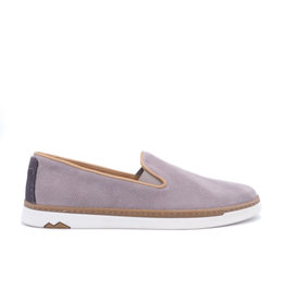 Coxx Borba Suede dress shoes slip on for men Coxx Borba  Alonso Grey