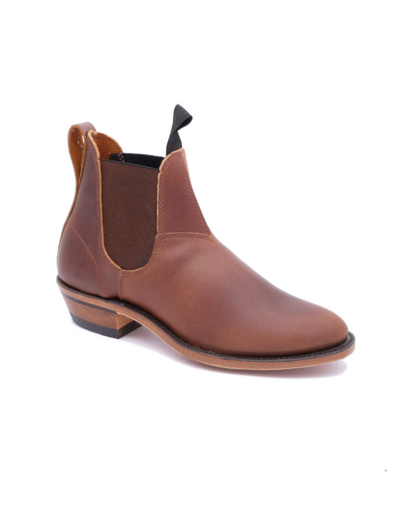 Canada West Women Chelsea Leather Boot Canada West Romeo 6784 Brown