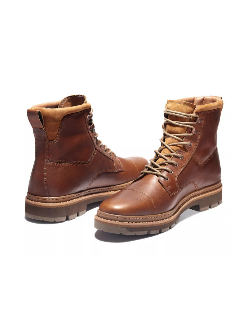 Timberland Men Waterproof leather boots Timberland Port Union Brown TB0A2BSG