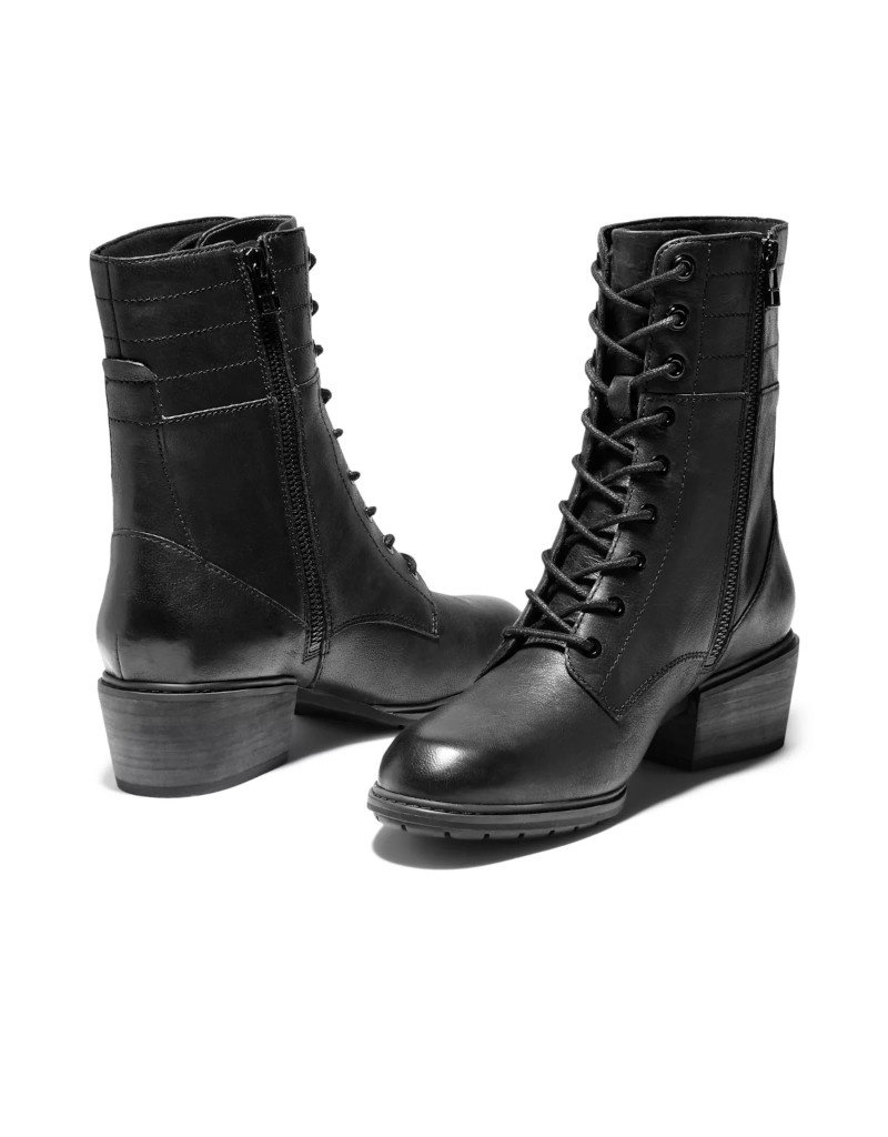 Timberland Timberland - Sutherlin Bay Side Zip botte femme Noir