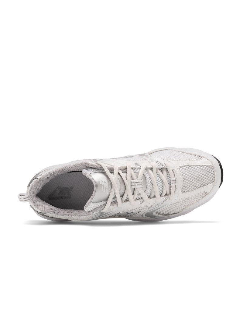 New Balance New balance - 530 -- chaussures décontractées MR530EMA |  Blanc/Metallique