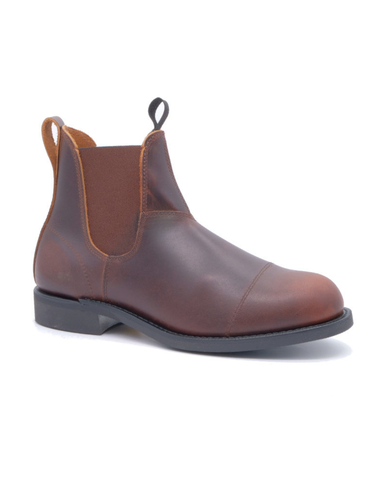 Canada West Canada West - Romeo Men Boots Leather Chelsea -- 14332-1 | Pecan