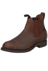 Canada West Canada West - Romeo Men Boots Leather Chelsea -- 14332   Crazy Horse