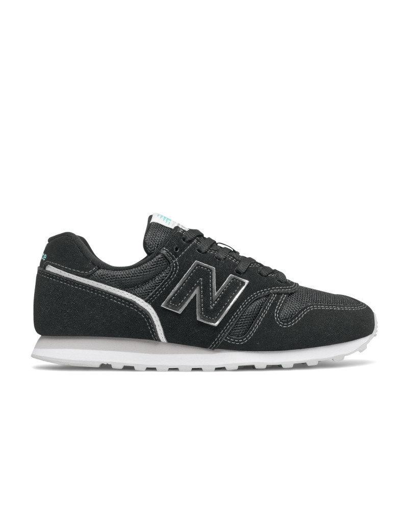 New Balance Women Lifestyle Shoes New Balance  WL373FT2 | Black/Silver