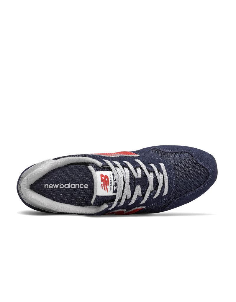 New Balance Men Lifestyle Shoes New Balance ML373CS2  |Navy/Red/Silver