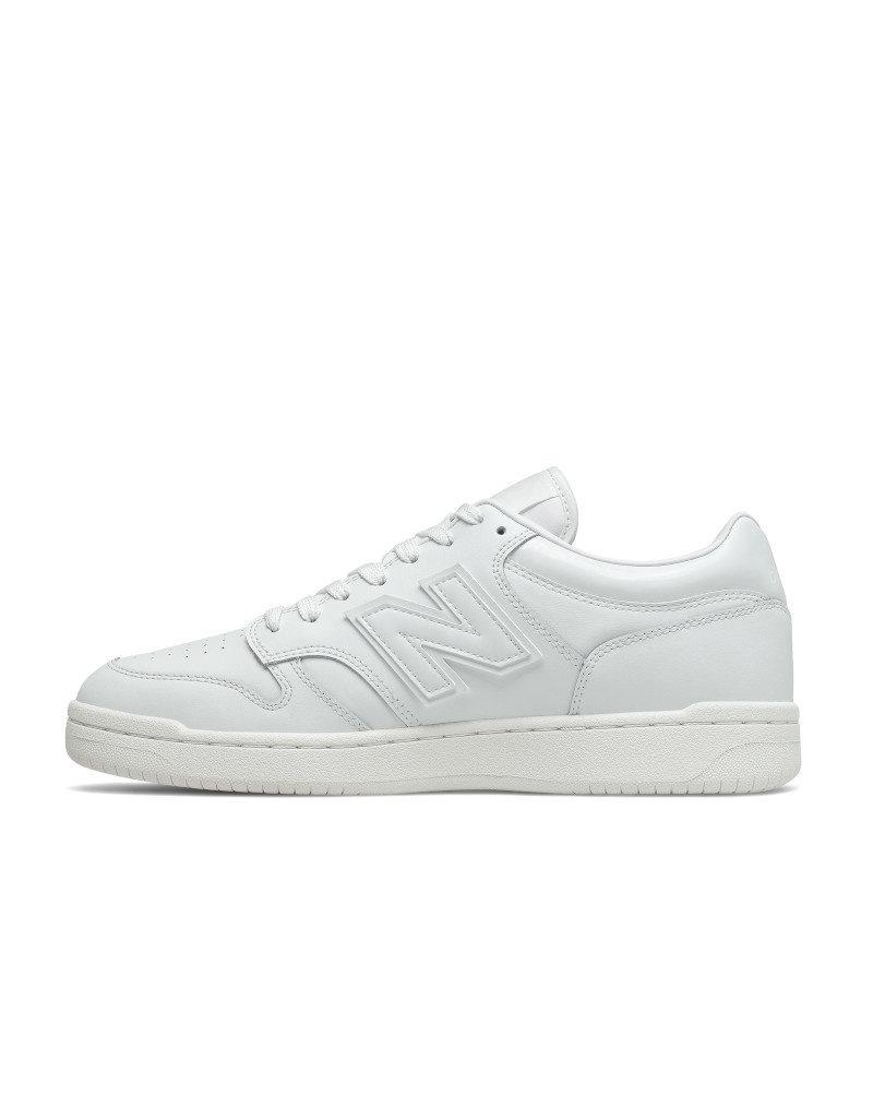New Balance Unisex Shoes New Balance 480 - BB 480 LWW White