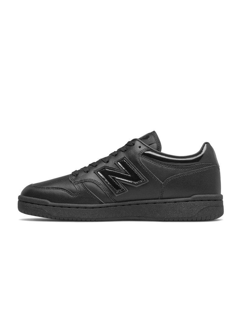 New Balance Unisex Sneakers New Balance 480 Black BB480LBG