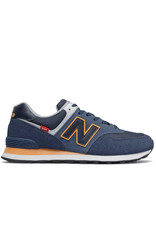New Balance Men Sneakers New Balance 574 Navy/Sun - ML574SY2