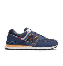New Balance Chaussures homme New Balance 574 Marine/Jaune