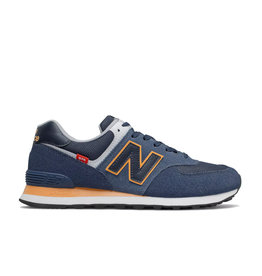 New Balance Men Sneakers New Balance 574 Navy/Sun
