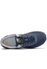 New Balance Chaussures homme New Balance 574 Marine/Jaune - ML574SY2