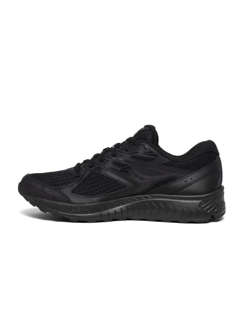 Saucony Running men shoes Saucony Cohesion 13 Wide black