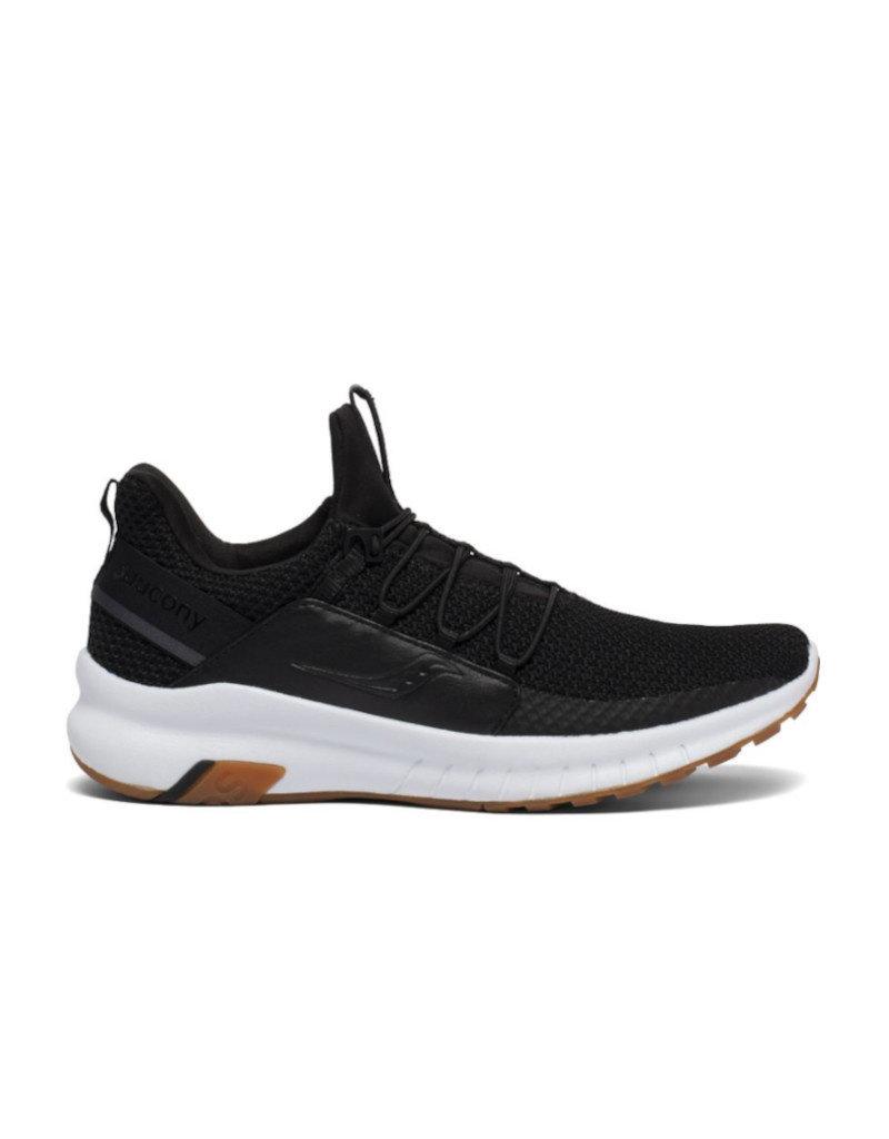 Saucony Chaussures de course Femme Saucony Stretch and Go Glide noir/gum