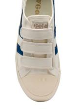 Gola Gola Coaster Velcro Blanc Cassé / Bleu Vintage