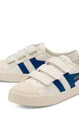 Gola Gola Coaster Velcro Off White/Vintage Blue