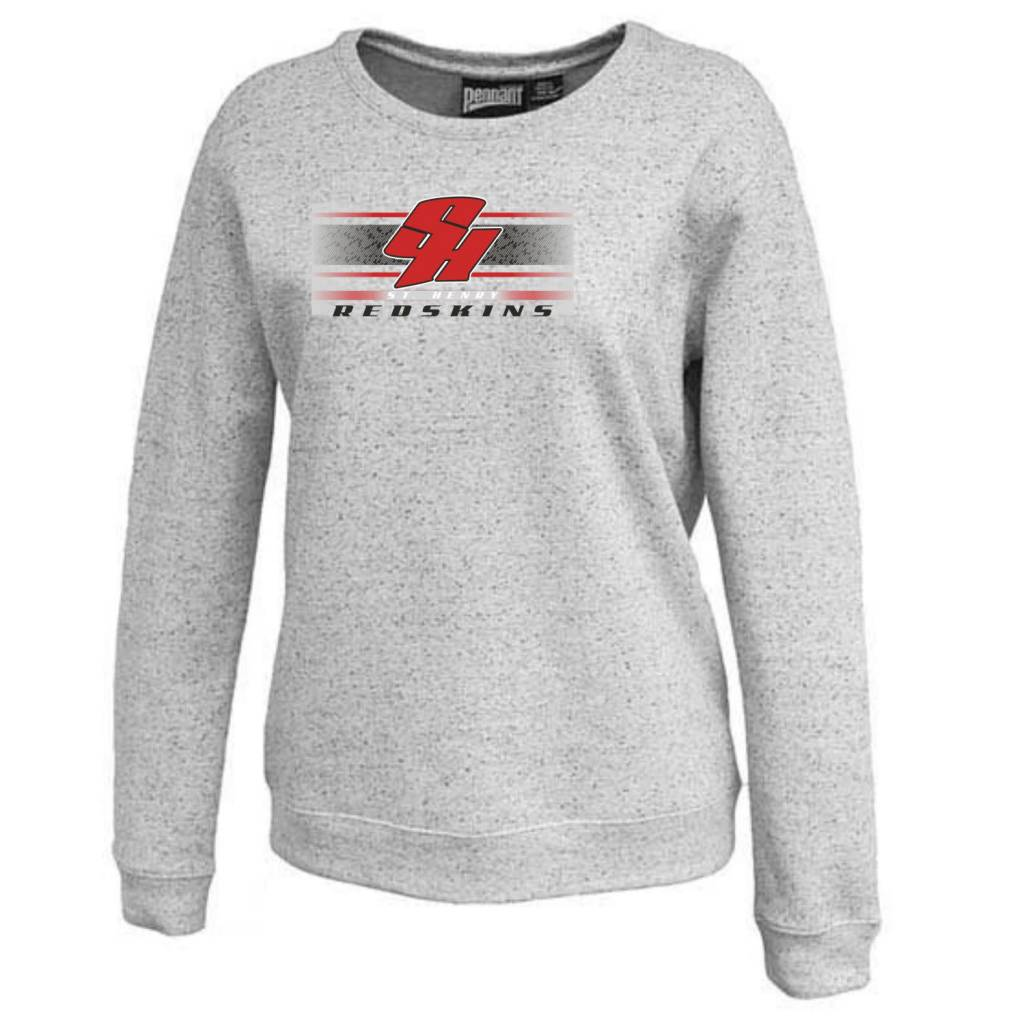 Pennant H324 - 5310 Pennant Ladies Fleck Fleece Crew