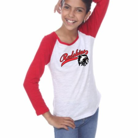 Pima Apparel H334 - 6054G Girls Long Sleeve -