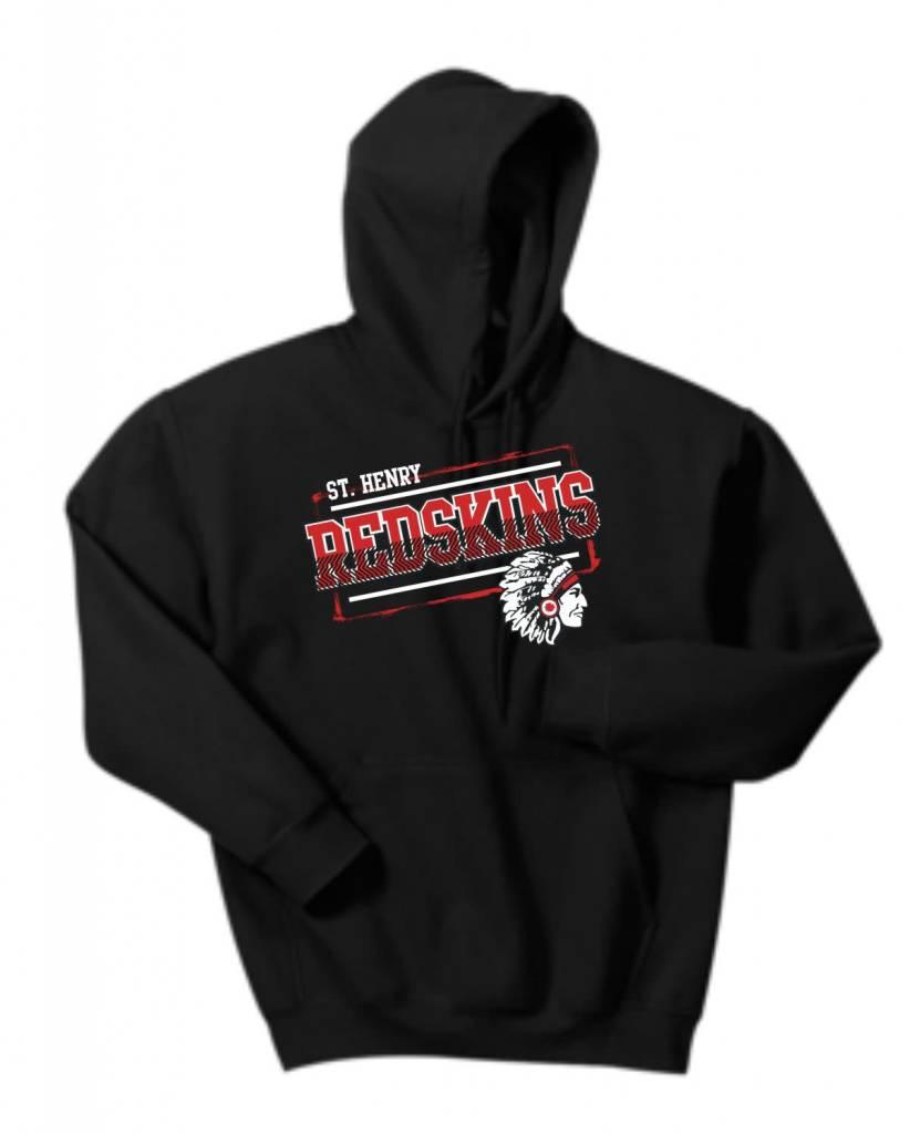 Gildan H338 - 18500 Gildan Hooded Sweatshirt -