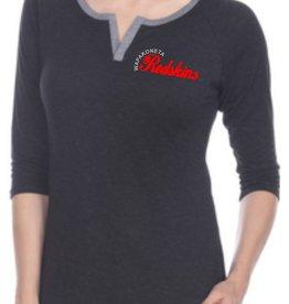 W411-7204 Ladies TriBlend 3/4 sleeve