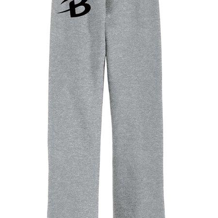 B235-18400b Youth Gildan Open-Bottom Sweatpant