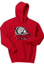 W427-18500b Youth Gildan Hooded Sweatshirt