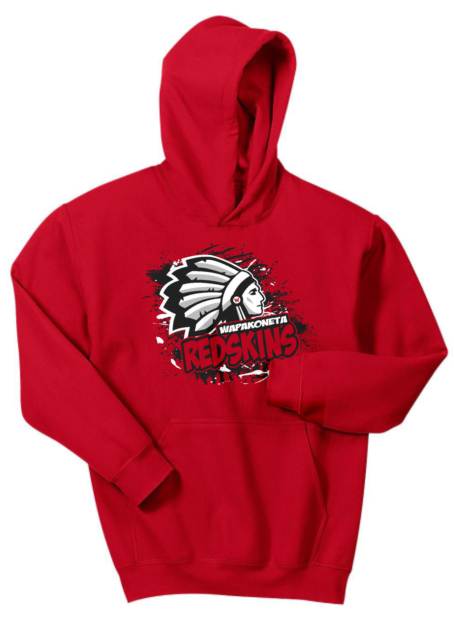 W427-18500b Youth Gildan Hooded Sweatshirt