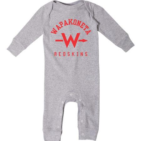 Rabbit Skins W437-4412 RS Infant long-legged bodysuit