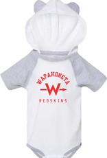 Rabbit Skins W439-4418 Infant Bodysuit with Ears