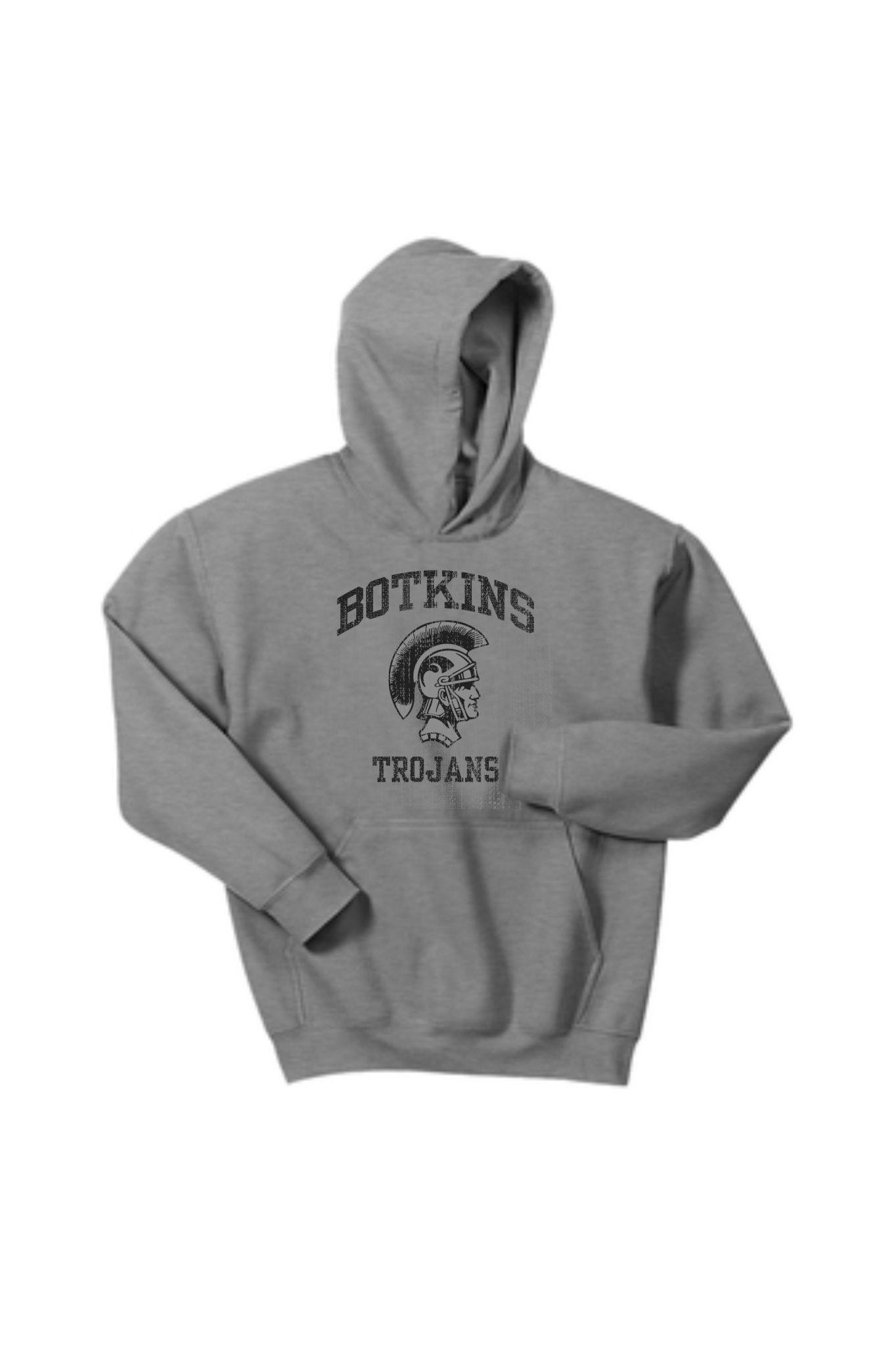 Gildan B237-18500b Gildan Youth Hooded Sweatshirt