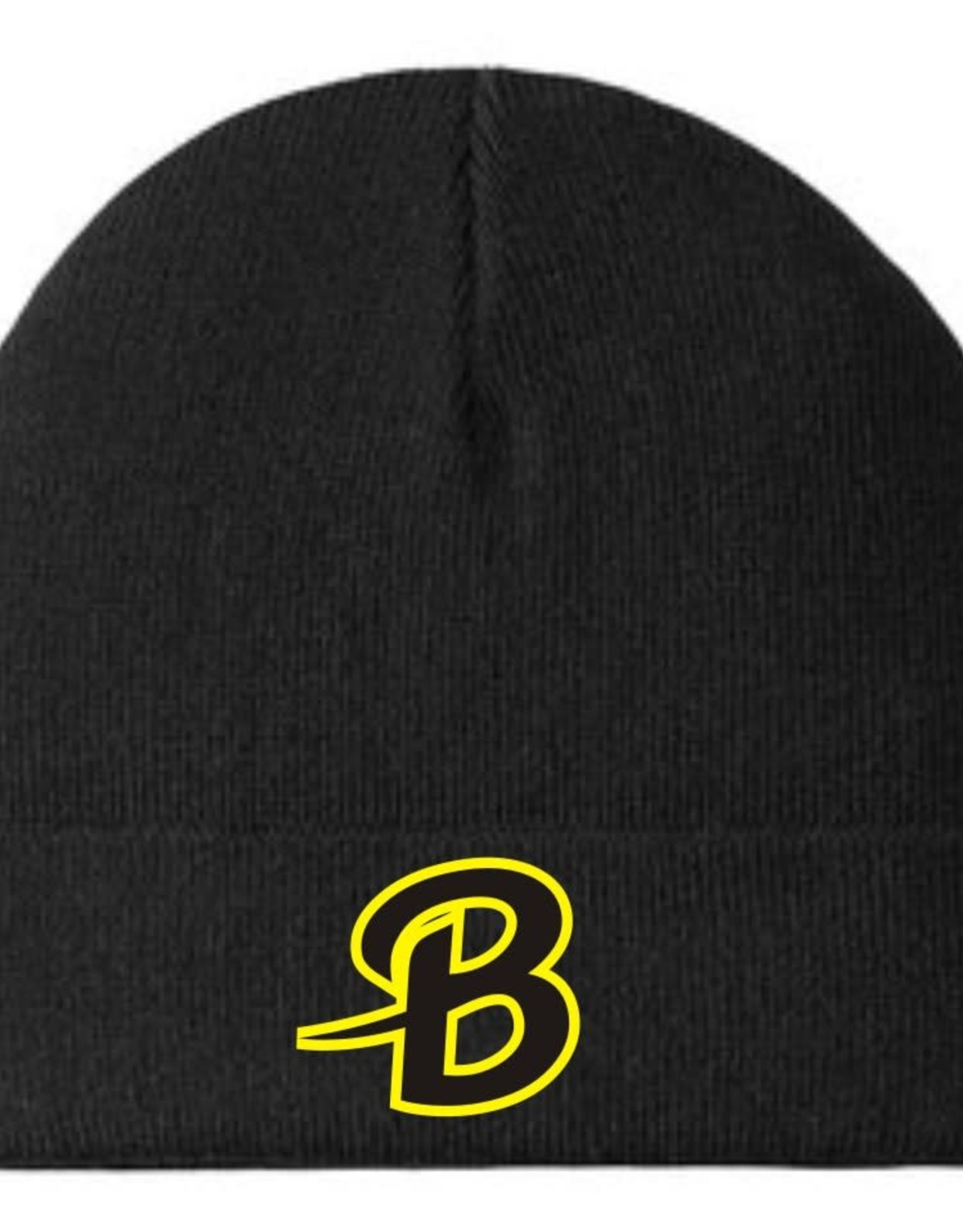 Port Authority B240-C939 Port Authority Knit Cuff Beanie - Black