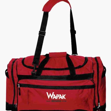 W353 - 3906 Liberty Bags Large Duffel - Red