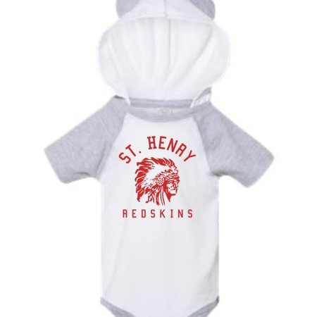 Rabbit Skins H484 - 4417 - Infant Body Suit - white/heather