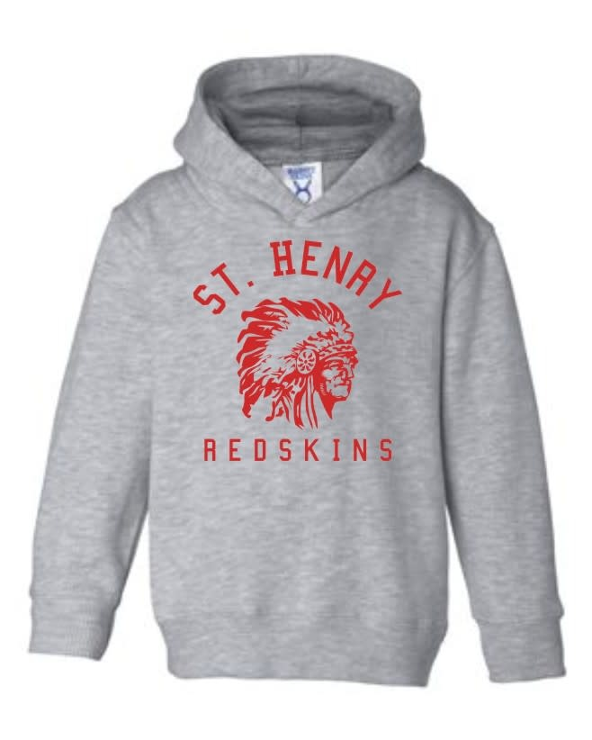 Rabbit Skins H485 - 3326 Toddler Hood - Heather Grey