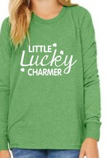 Bella + Canvas H554 - 3501Y - Youth Long sleeve T - Green Triblend