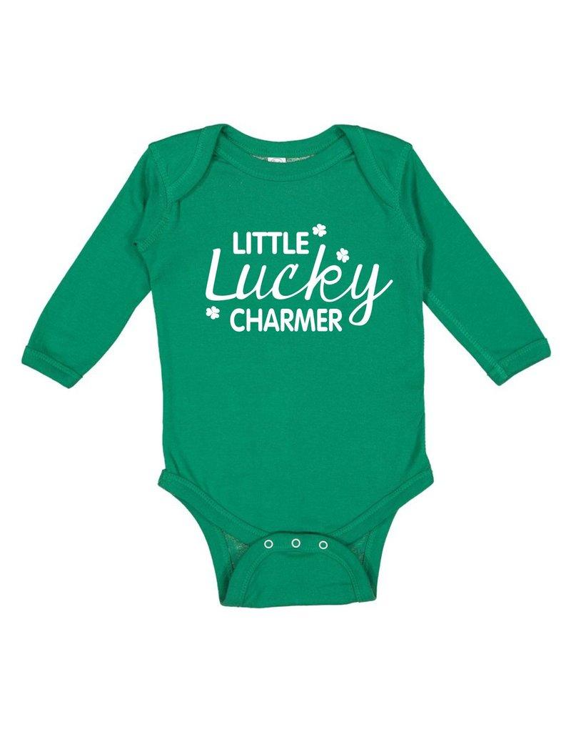 Rabbit Skins H555 - 4411-  Infant Long Sleeve Bodysuit - Kelly