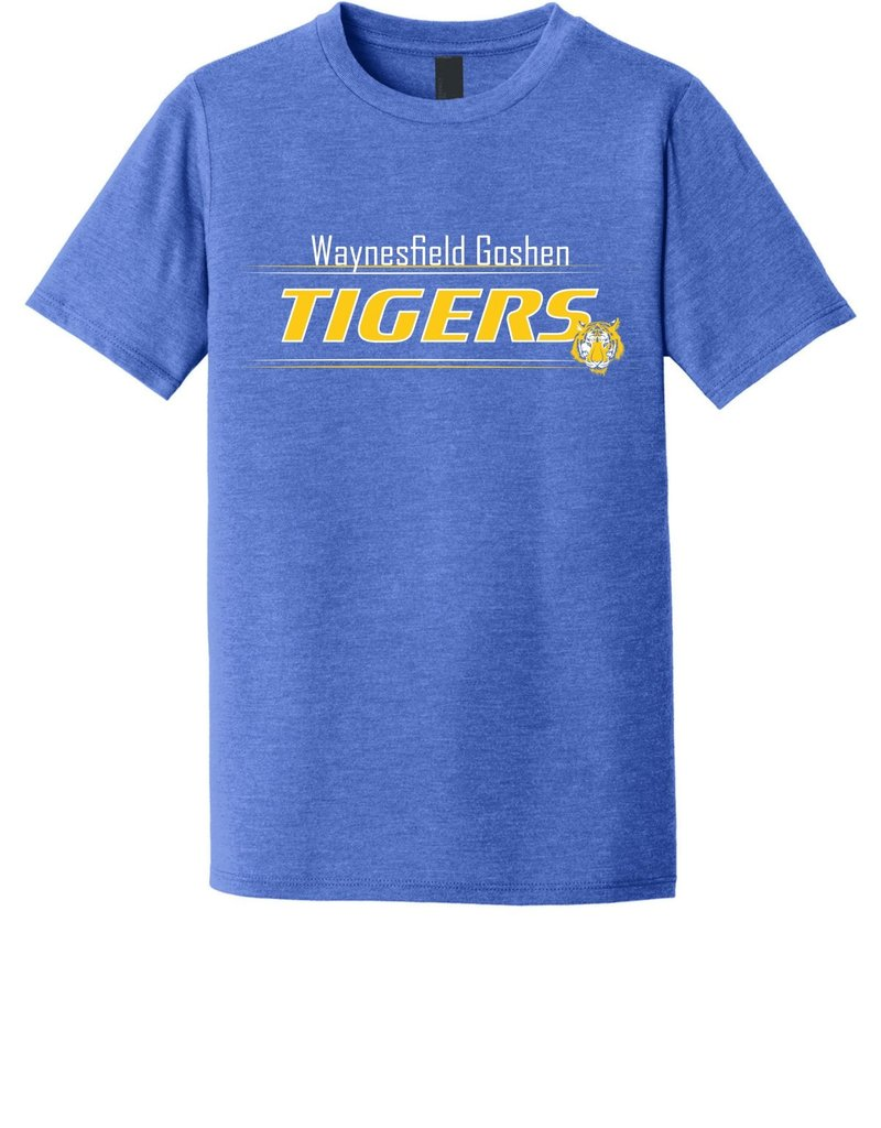 District T202-DT130Y Youth District Triblend Tee