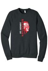 Bella + Canvas H566-3901 Sponge Fleece Sweatshirt