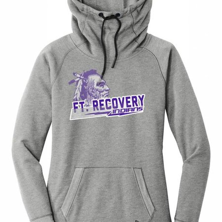 New Era F121 - Ladies Tri Blend Fleece Hood