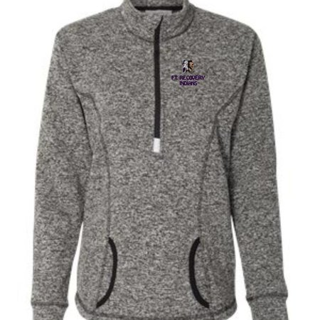 J. America F127 - 8617 Ladies J. America 1/4 Zip
