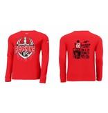 Nike W255 - NKBQ5232 Nike Long Sleeve T-shirt University Red L