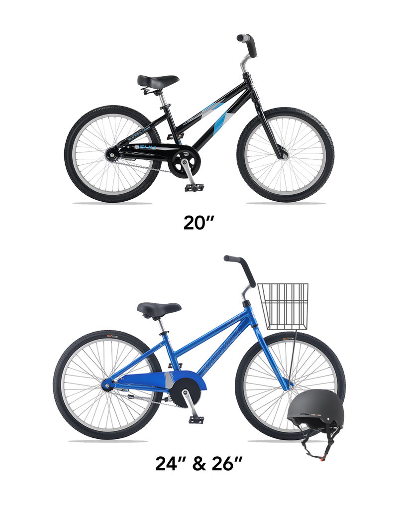 SUN BICYCLES KID'S BIKE RENTAL