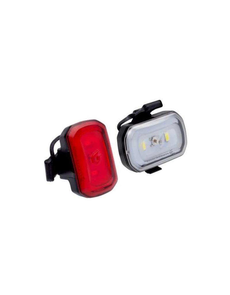 Blackburn BLACKBURN LIGHT SET CLICK USB COMBO BLACK