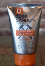 Duke Cannon Working Men's Face Wash