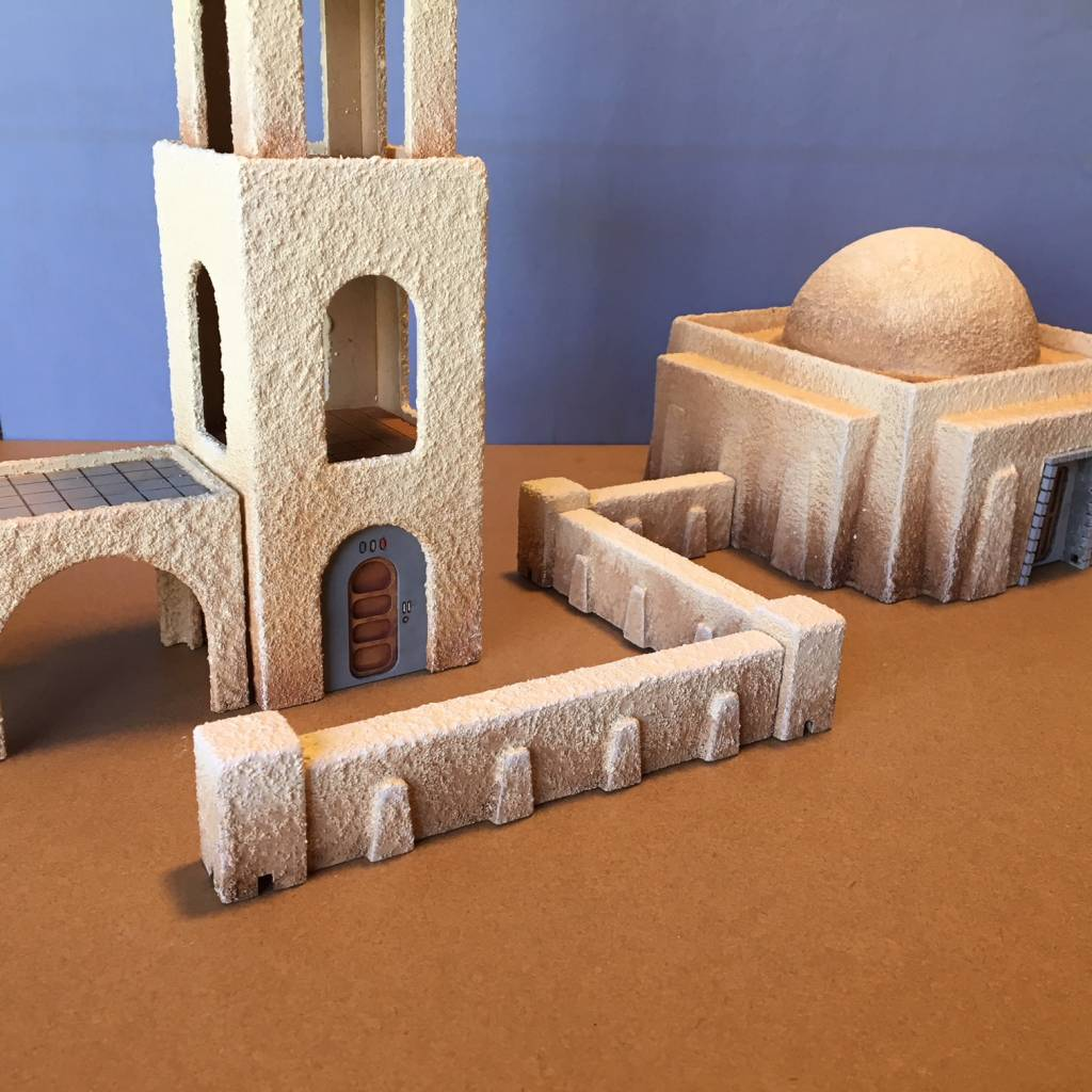 GG Desert Planet Wall Set