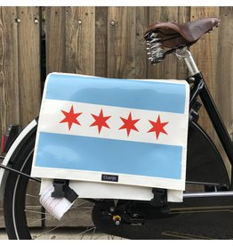Clarijs Clarijs Panniers XL Chicago Flag