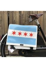 Clarijs Clarijs Panniers XL Chicago Flag