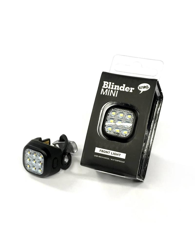 Knog Blinder Mini Niner Rear Black Bike Light USB Rechargeable