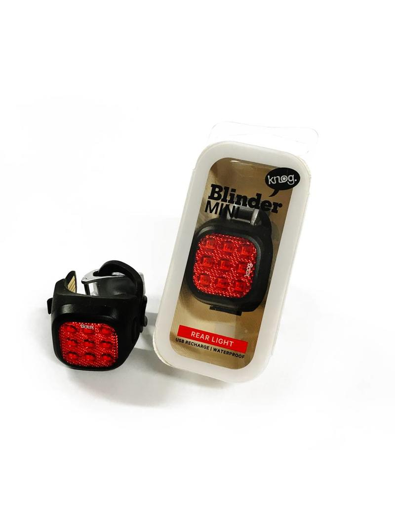 Knog Blinder Mini Niner Rear Black